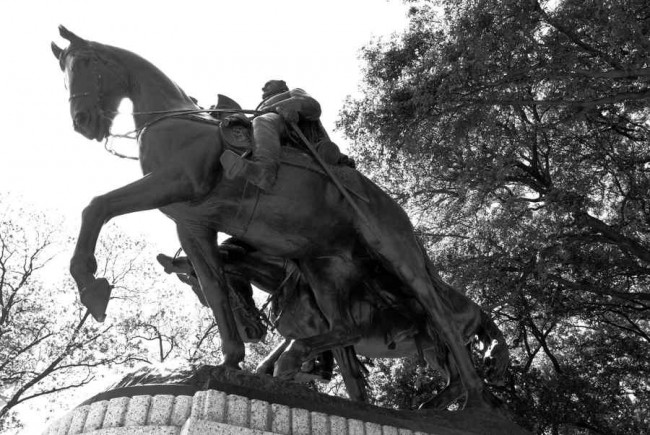 Robert E Lee And His Horse Traveller Brian Humek